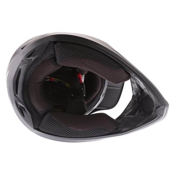 Fox V3 Matt Carbon Motocross Helmet Inside
