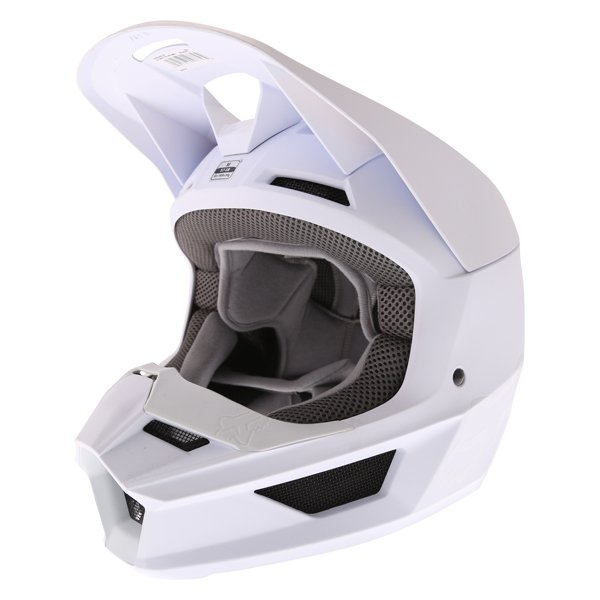 V1 Helmet Matt White