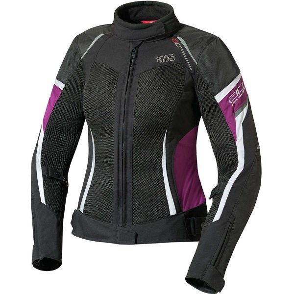 Andorra Jacket Black Violet White Ladies Jackets