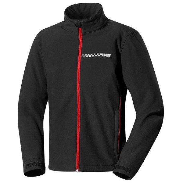 Nelson Jacket Black Red Workwear