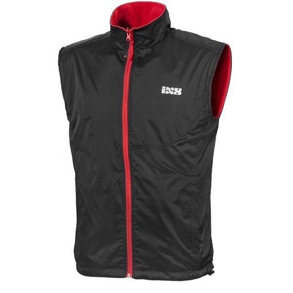 Bennett Vest Black Red Workwear