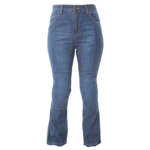 LS SS2 Jeans Blue Oxford Ladies