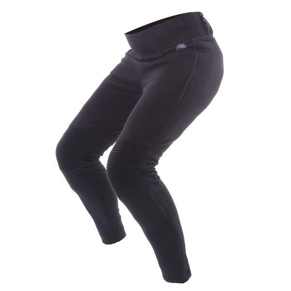 BKS Roxy Kevlar Ladies Black Motorcycle Leggings Riding crouch