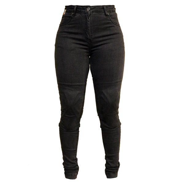 Becky Jeans Black Ladies Motorcycle Clothing, Boots And Gloves