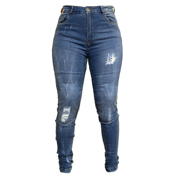Sophia Jeans Blue Ladies Motorcycle Clothing, Boots And Gloves