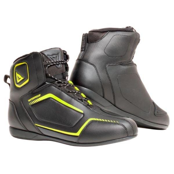 Raptors D-WP Shoes Black Black Fluo Yellow