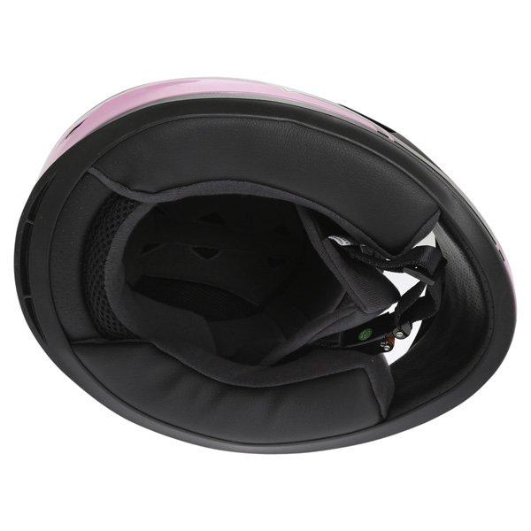 Frank Thomas FT36 Pink G1 Ladies Full Face Motorcycle Helmet Inside