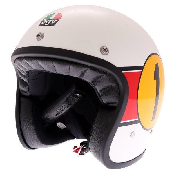X70 Mino 73 Helmets White