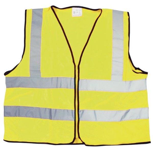 Reflective Vest Yellow Bike-It Clothing