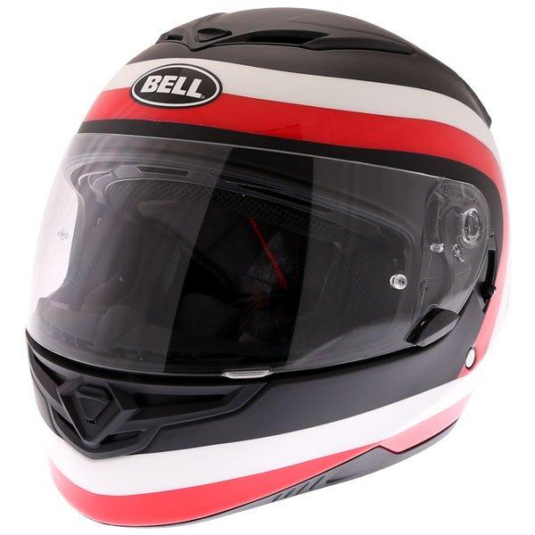 RS2 Crave Helmet Black White Red Bell Helmets