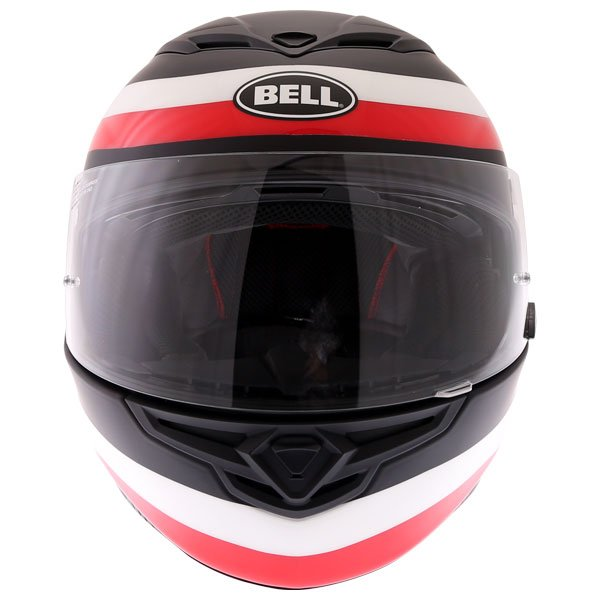 Bell RS2 Crave Helmet Black White Red Size: M