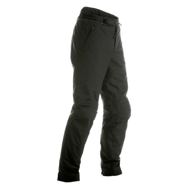 Dainese Amsterdam Black Textile Motorcycle Pants Front