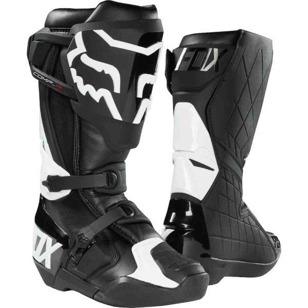 Fox Comp R Black Motocross Boots