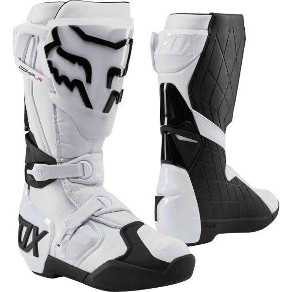 Fox Comp R White Motocross Boots