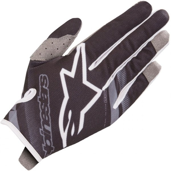 Alpinestars Radar Black Mid Grey Gloves Back