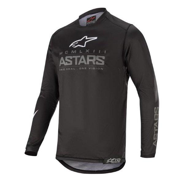 Alpinestars Racer Black Anthracite Graphite Jersey Front