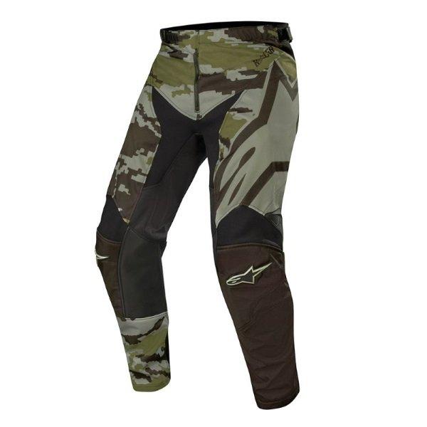Alpinestars Racer Black Military Camo Tactical Pants Front