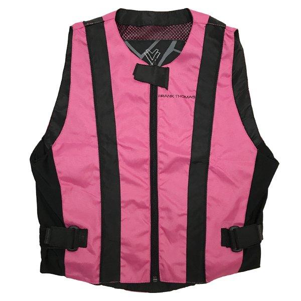 Hi Viz Vest Ladies Pink Hi-Viz Clothing