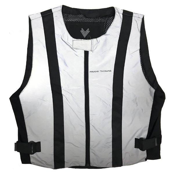 Ultra Hi Viz Vest Silver Hi-Viz Clothing