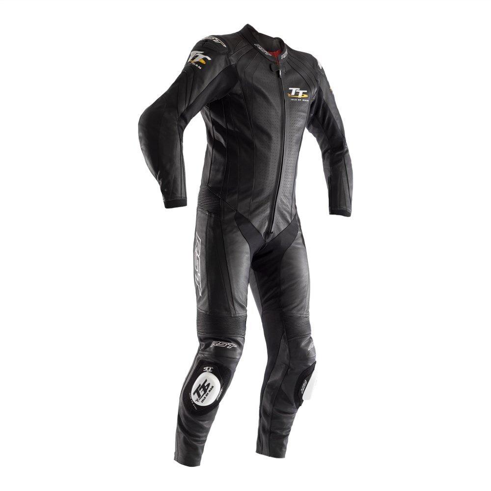 IOM TT Grandstand CE Suit Black