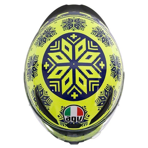 AGV K1 Rossi Winter Test 2015 Replica Full Face Motorcycle Helmet Top