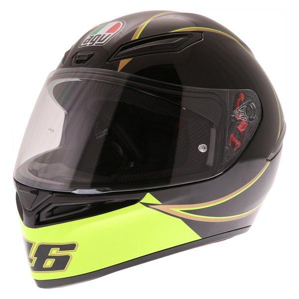 AGV K1 Gothic 46 Full Face Motorcycle Helmet Front Left