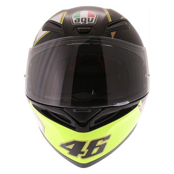 AGV K1 Gothic 46 Full Face Motorcycle Helmet Front