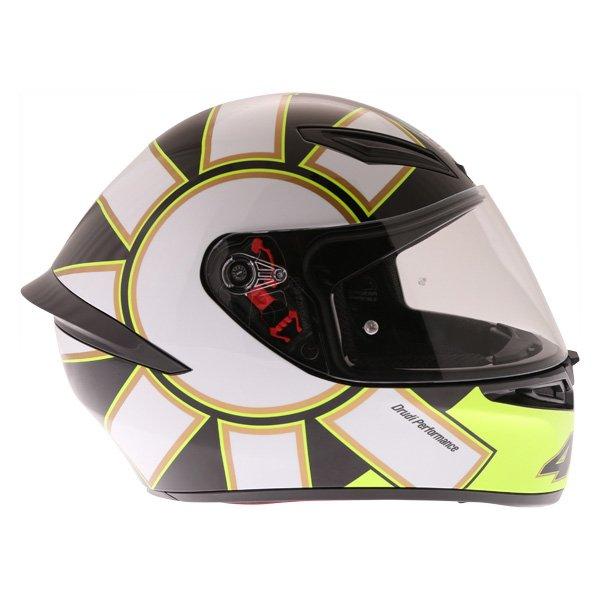 AGV K1 Gothic 46 Full Face Motorcycle Helmet Right Side