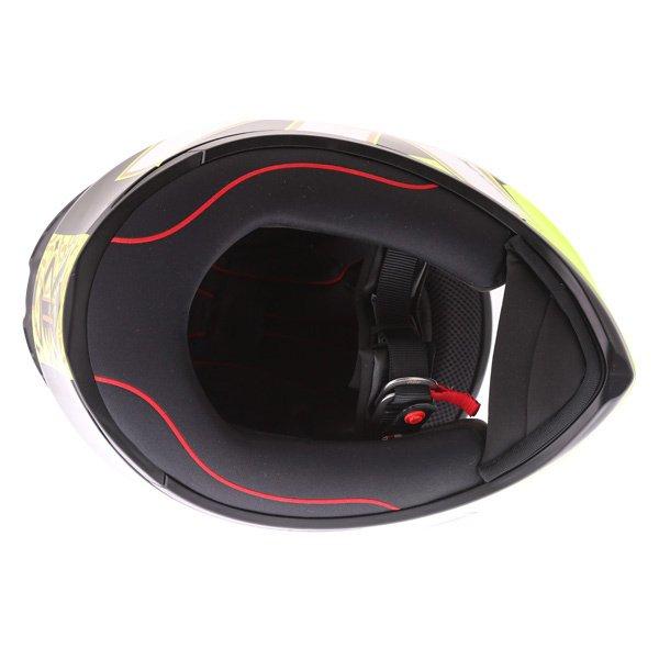 AGV K1 Gothic 46 Full Face Motorcycle Helmet Inside