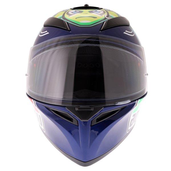 AGV K3 SV Rossi Misano 2015 Replica Full Face Motorcycle Helmet Front