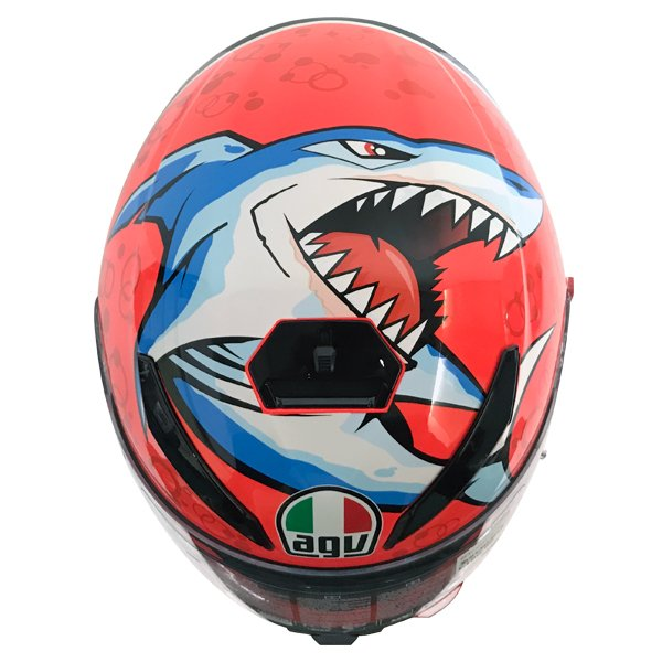 AGV K3 SV Attack Full Face Motorcycle Helmet Top