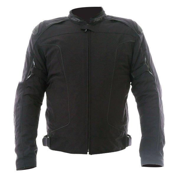 GT CE Mens Textile Jacket Black RST Clothing