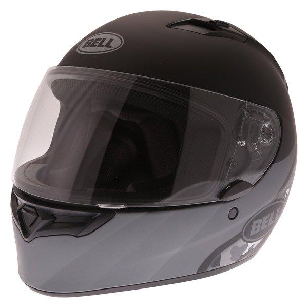 Qualifier Integrity Helmet Matt Black Titanium Camo Bell Helmets