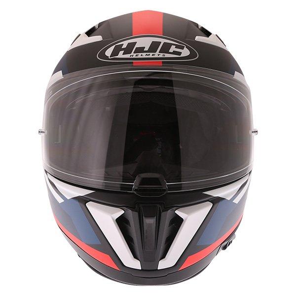 HJC I70 Elim Red Black Blue White Full Face Motorcycle Helmet Front