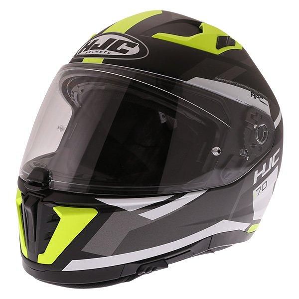 I70 Elim Helmet Black Grey Fluo