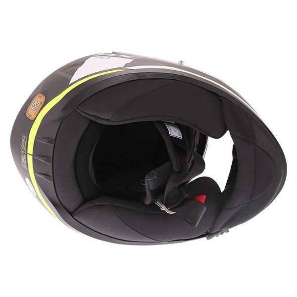 HJC I70 Elim Black Grey Fluo Full Face Motorcycle Helmet Inside