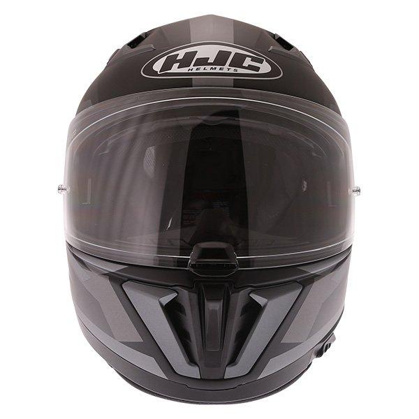 HJC I70 Elim Black Grey Full Face Motorcycle Helmet Front