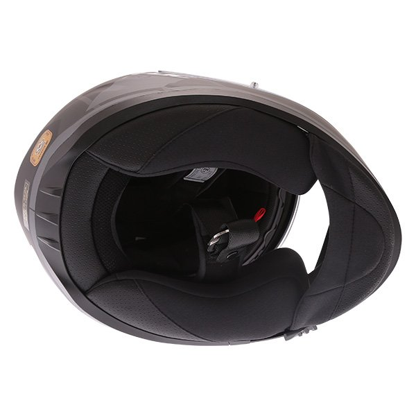 HJC I70 Elim Black Grey Full Face Motorcycle Helmet Inside