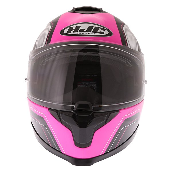 HJC C70 Lianto Ladies Pink Full Face Motorcycle Helmet Front