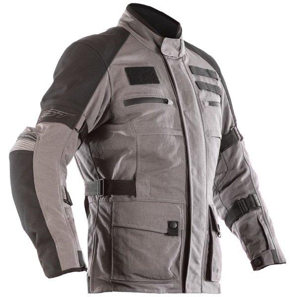 X-Raid CE Mens Textile Jacket Dark Grey RST Clothing
