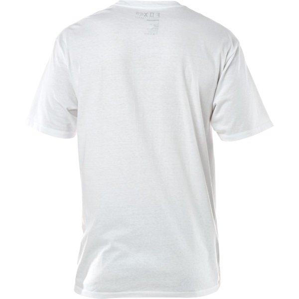 Fox Legacy White Fox Head T-Shirt Back