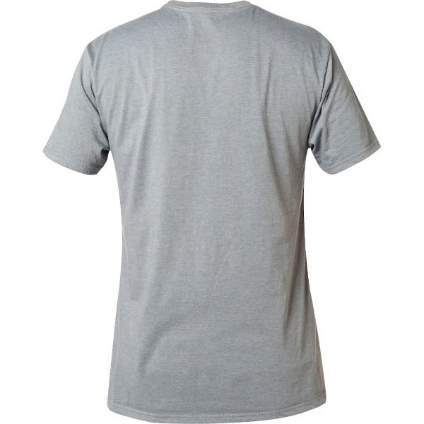 Fox Legacy Heather Graphite Moth T-Shirt Back