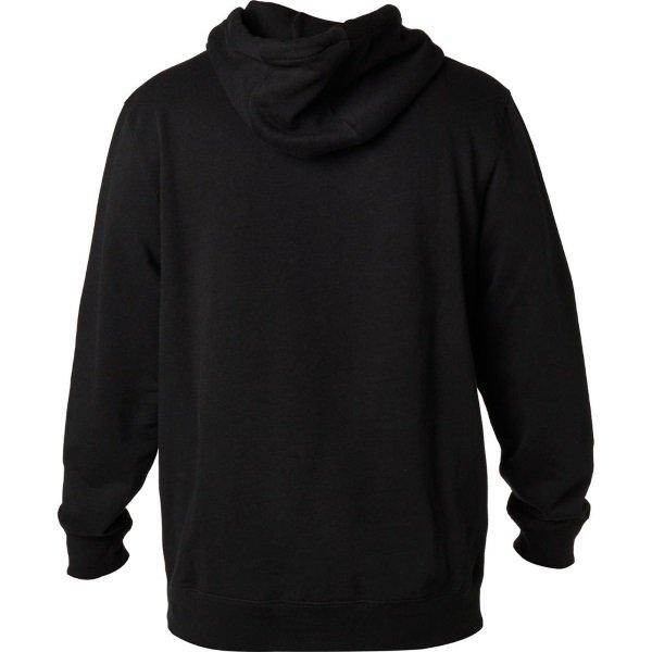 Fox Legacy Black Foxhead Zip Fleece Back