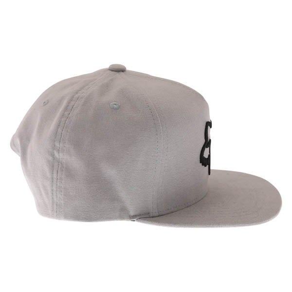 Fox Instill Snapback Steel Grey Baseball Cap Right Side