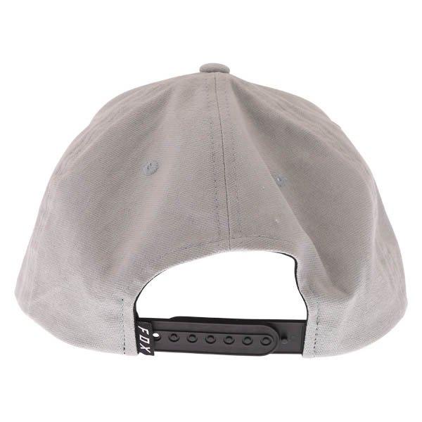 Fox Instill Snapback Steel Grey Baseball Cap Back