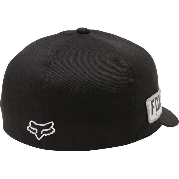 Fox Honda Black Flexfit Hat Back