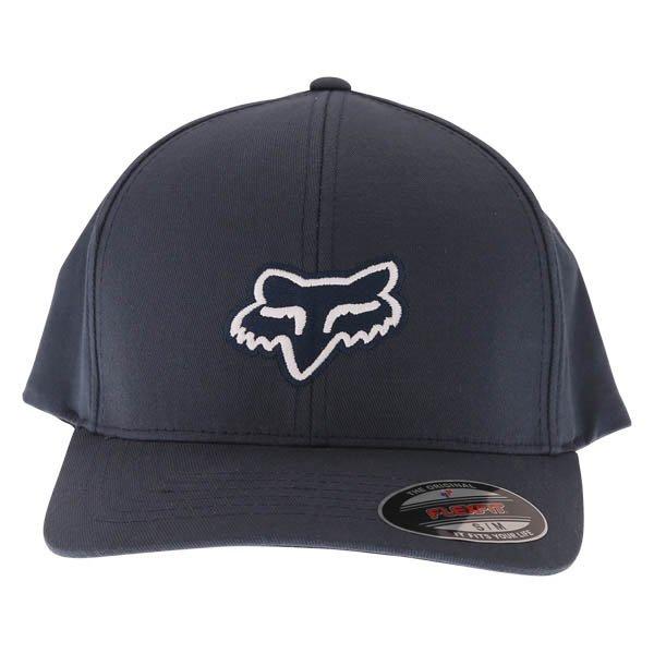 Fox Legacy Flexfit Navy Baseball Cap Front