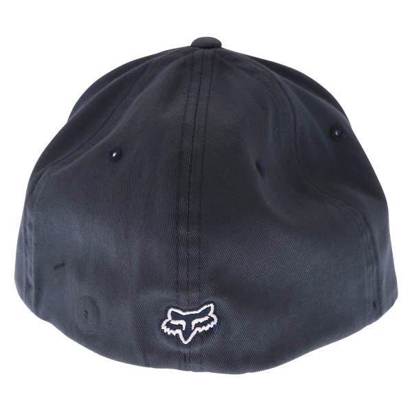Fox Legacy Flexfit Navy Baseball Cap Back