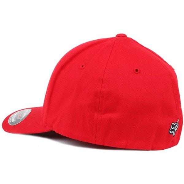 Fox Legacy Flexfit Dark Red Hat Back