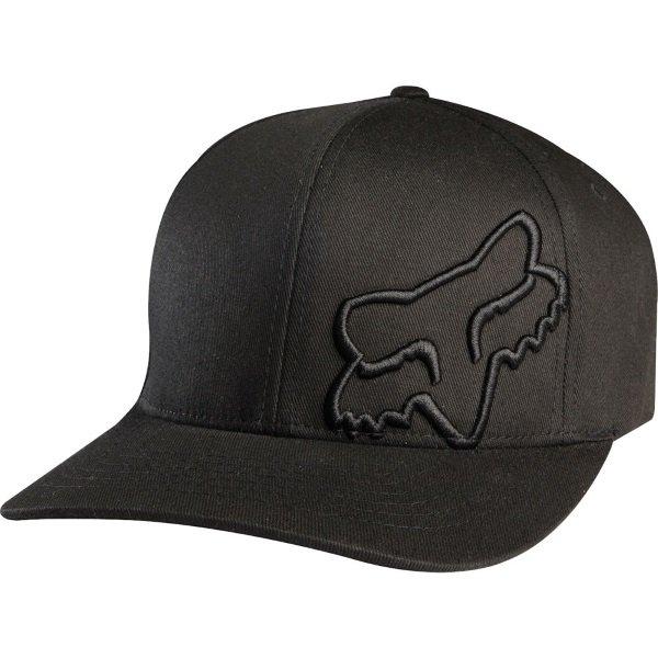 Fox Flex 45 Flexfit Hat Black Unisex - S/M